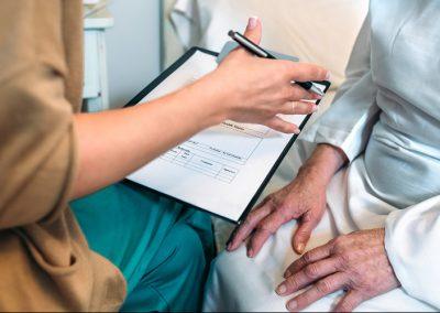 Fragebogen für Patienten (Anamnese)