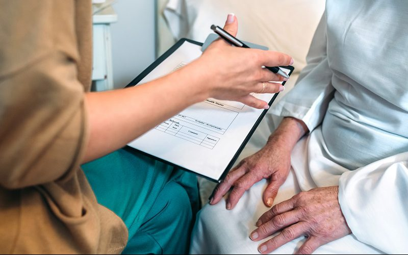Fragebogen für Patienten zur Anamnese